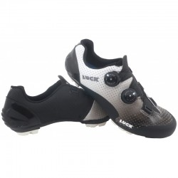 Luxor White-Black MTB Shoes...