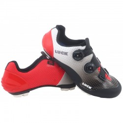 Luxor White-Red MTB Shoes...