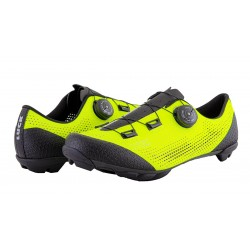 Shoes MTB  yellow fluor Matrix  at Luck eShop Bikes