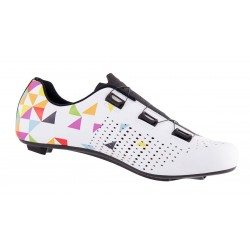 Zapatilla Mountain Bike  blanco Enduro Blanca Brillo MTB en Luck eShop Bikes