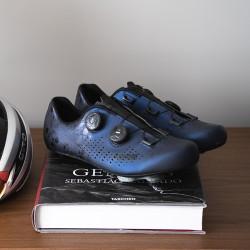 2-Genius Calaveras zapatillas de carretera azules 2021