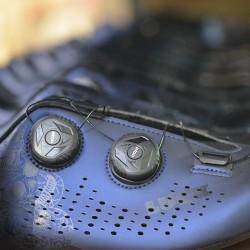 2-GENIUS-CALAVERAS Azules Zapatillas ciclismo Carretera