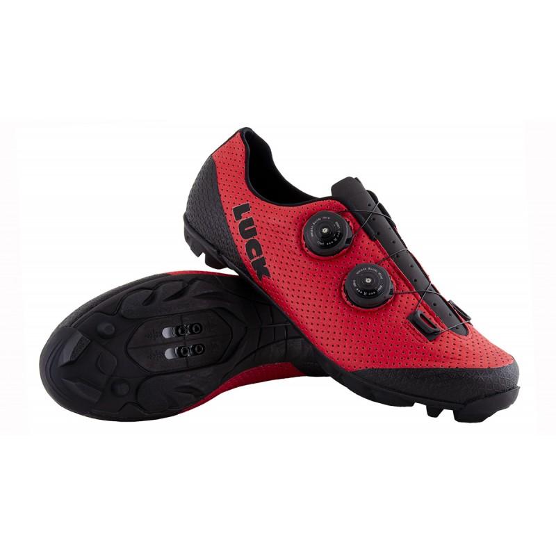 Shoes MTB  orange fluor Pro  at Luck eShop Bikes