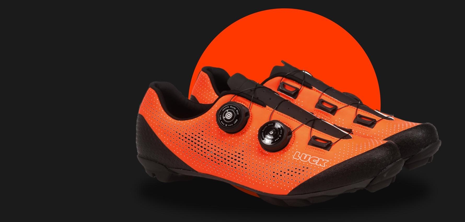 Orange Excalibur MTB Shoes
